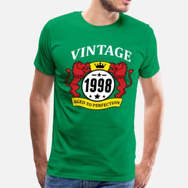 1998 Aged To Perfection Vintage 1998 Aged to Perfection - Men's Premium T-Shirt