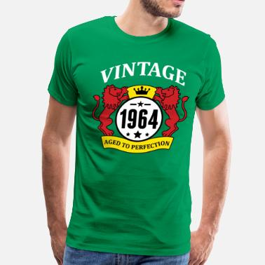 Made In 1964 Made To Perfection - Aged To Perfection Vintage 1964 Aged to Perfection - Men's Premium T-Shirt