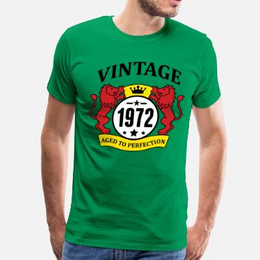 1972 Aged To Vintage 1972 Aged to Perfection - Men's Premium T-Shirt