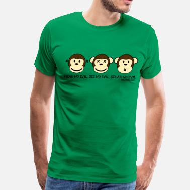 Three Wise Monkeys Three Wise Monkeys - Men's Premium T-Shirt