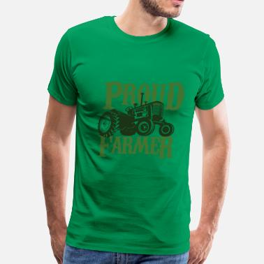 Proud Farmer Proud Farmer - Men's Premium T-Shirt