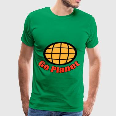 Go Planet - Captain - Planet - Planeteers - Men's Premium T-Shirt
