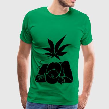 ganja man - Men's Premium T-Shirt