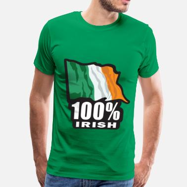 100 Percent Irish 100% Irish - Men's Premium T-Shirt