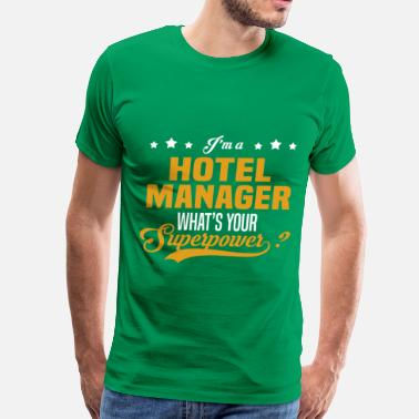 Manager Hotel Manager - Men's Premium T-Shirt
