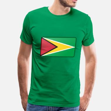 Flag Of Guyana Guyana Flag - Men's Premium T-Shirt