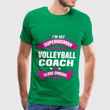 Volleyball Coach - Men's Premium T-Shirt