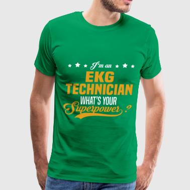 EKG Technician - Men's Premium T-Shirt
