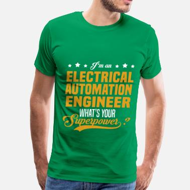 Electrical Engineer Girl Electrical Automation Engineer - Men's Premium T-Shirt