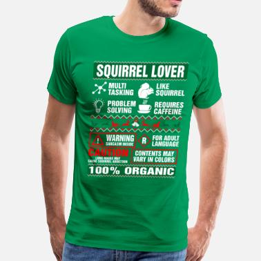Squirrel Squirrel Lover Tshirt - Men's Premium T-Shirt
