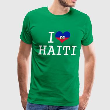 i love haiti - Men's Premium T-Shirt