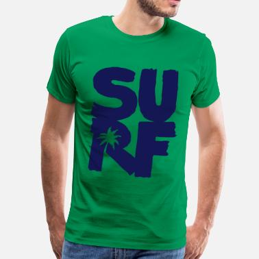 Wipeout Surf - Men's Premium T-Shirt