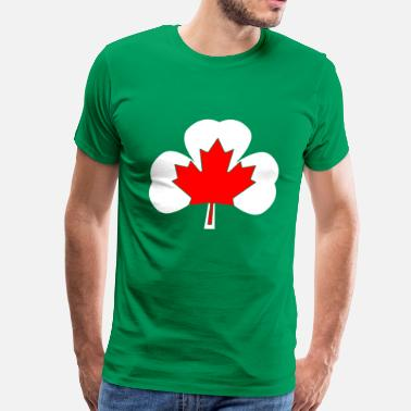 Canada T-shirt for Canadian Irish people - T-shirt premium pour hommes