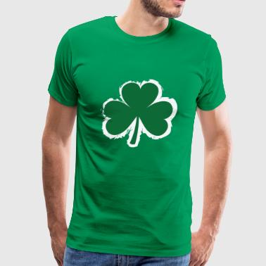 Clover Leaf - Men's Premium T-Shirt
