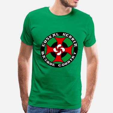Basque cross - Men's Premium T-Shirt