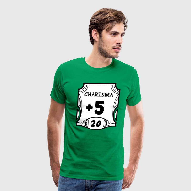All of the Charisma - Men's Premium T-Shirt