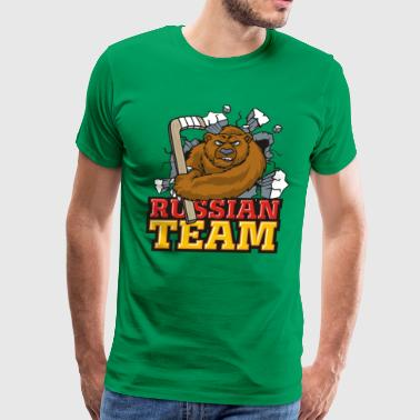 Russian Team - Men's Premium T-Shirt
