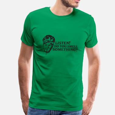 Wolfsburg Listen! Do you smell something? - Men's Premium T-Shirt