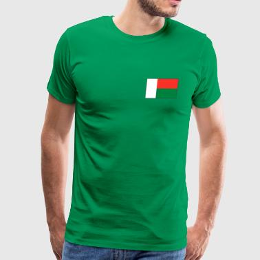 Madagascar Flag - Men's Premium T-Shirt