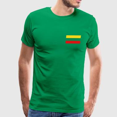 Lithuania Flag - Men's Premium T-Shirt