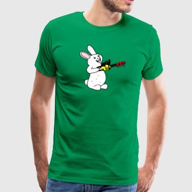 Killer Chainsaw Bunny Rabbit - Men's Premium T-Shirt