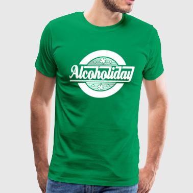 Alcoholiday St Patricks Day - Men's Premium T-Shirt