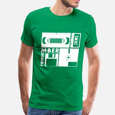 Tape Drive old shool medium - Men's Premium T-Shirt