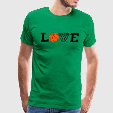 Love Basketball  - Men's Premium T-Shirt