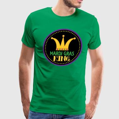 Mardi Gras King Celebration Party - Men's Premium T-Shirt
