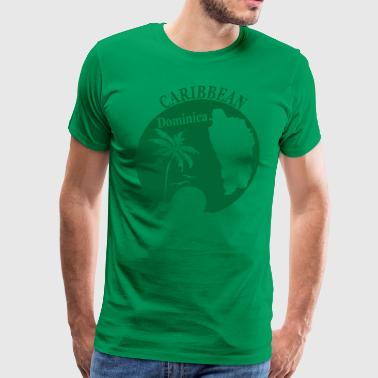 DOMINICA 3 - Men's Premium T-Shirt
