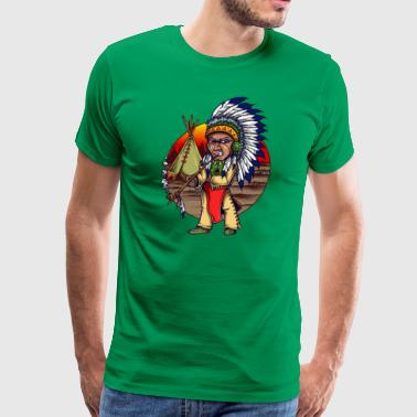 The American Native - Men's Premium T-Shirt