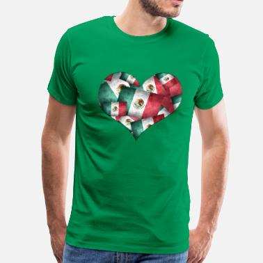Mexican Flag Mexican Flags - Men's Premium T-Shirt