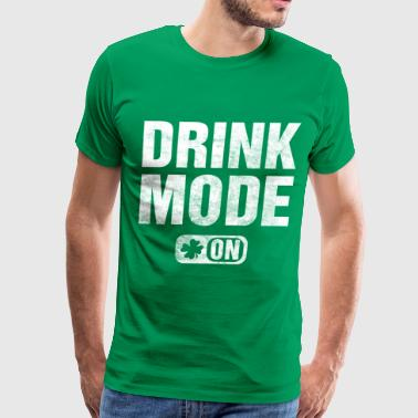 drink_mode_on - Men's Premium T-Shirt