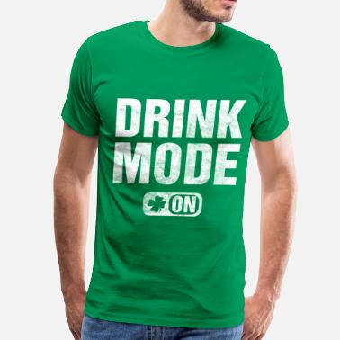 Drinking drink_mode_on - Men's Premium T-Shirt