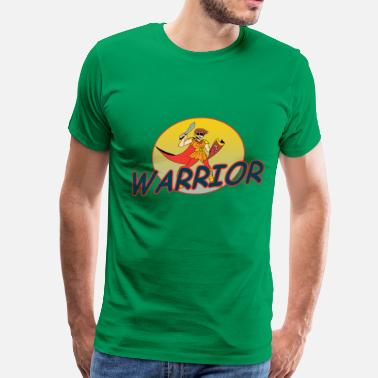 A Warrior Warrior - Men's Premium T-Shirt