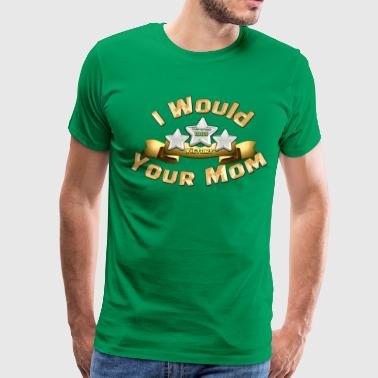 Three Star Mom - Men's Premium T-Shirt