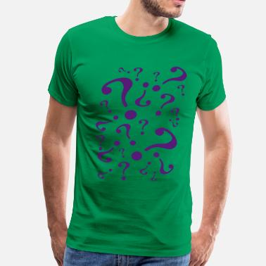 Riddler riddler - Men's Premium T-Shirt
