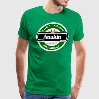 Beer Wars - Anakin - Men's Premium T-Shirt