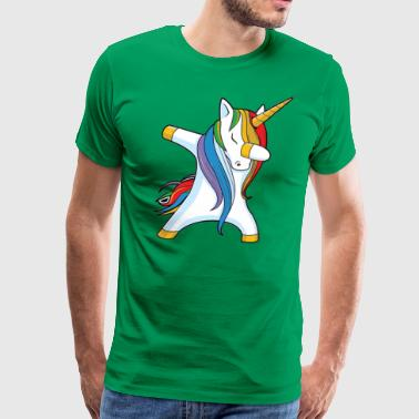 Dabbing Dance Unicorn - Men's Premium T-Shirt