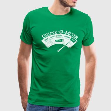 St Patricks Day IRISH DRUNK-O-METER Women's T-Shirts - Men's Premium T-Shirt