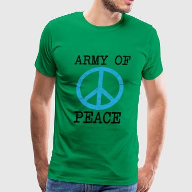 Veterans Day - Army Of Peace - Men's Premium T-Shirt