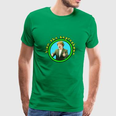Leprechaun Kids Liam the Leprechaun Tee - Men's Premium T-Shirt
