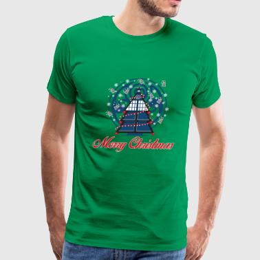 Dont Be Tardy Tardis-Tardis awesome christmas sweater for police - Men's Premium T-Shirt