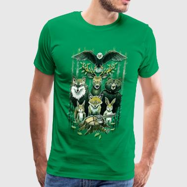 FoRest In Peace - Men's Premium T-Shirt