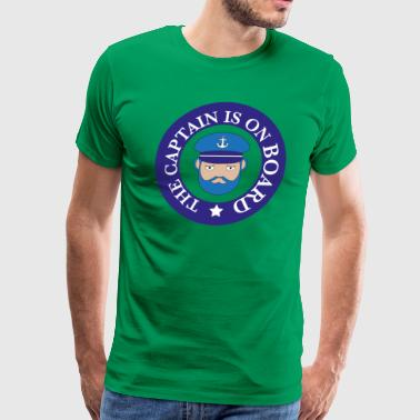 captain on board - Men's Premium T-Shirt