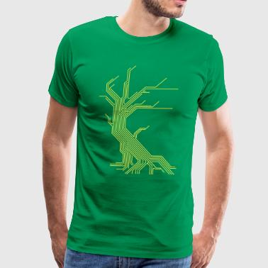 Circuit Tree - Men's Premium T-Shirt