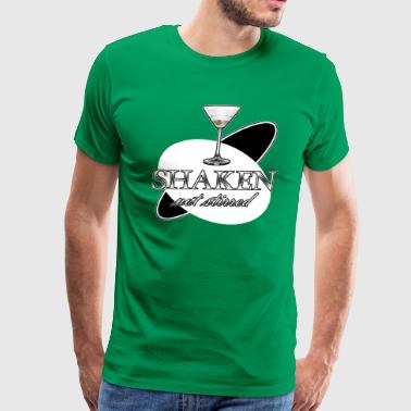 Shaken Not Stirred - Men's Premium T-Shirt