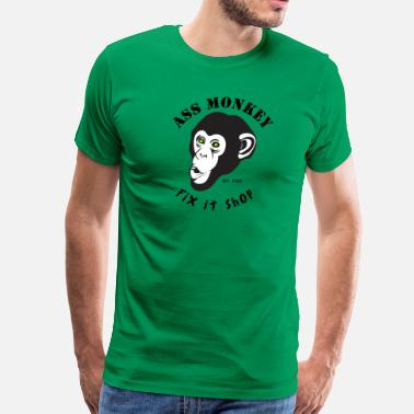 Ass Monkey Ass Monkey - Men's Premium T-Shirt