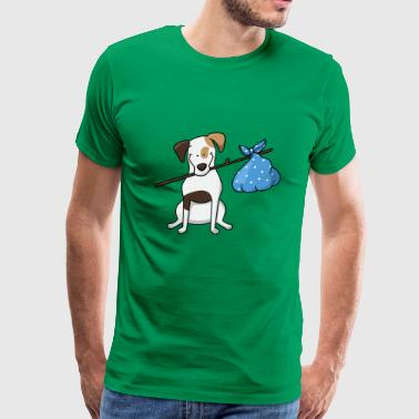 hunde dogs welpe animal tiere33 - Men's Premium T-Shirt