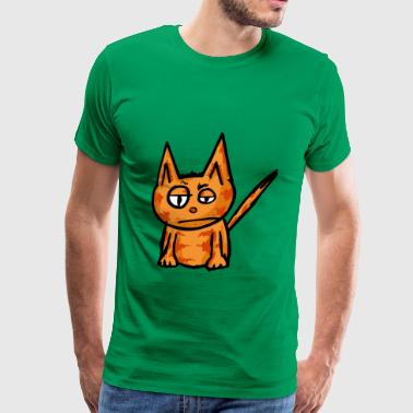 This cat is such a badass - Men's Premium T-Shirt